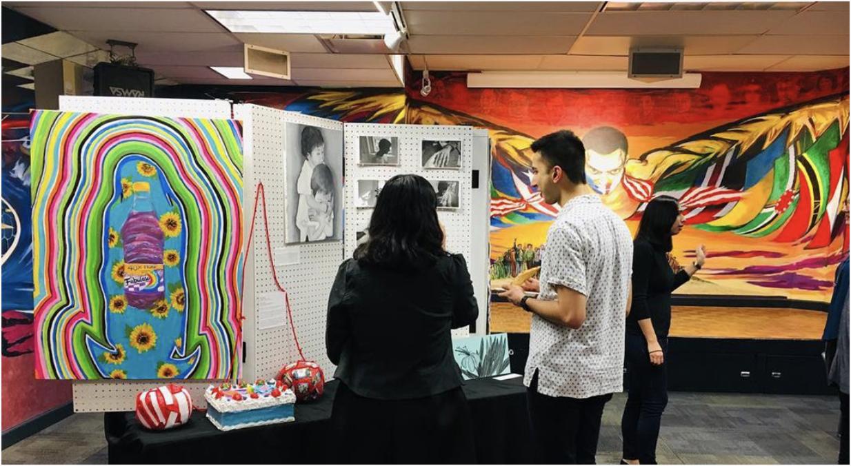 artOUT Pop-up Exhibition, Spring 2018